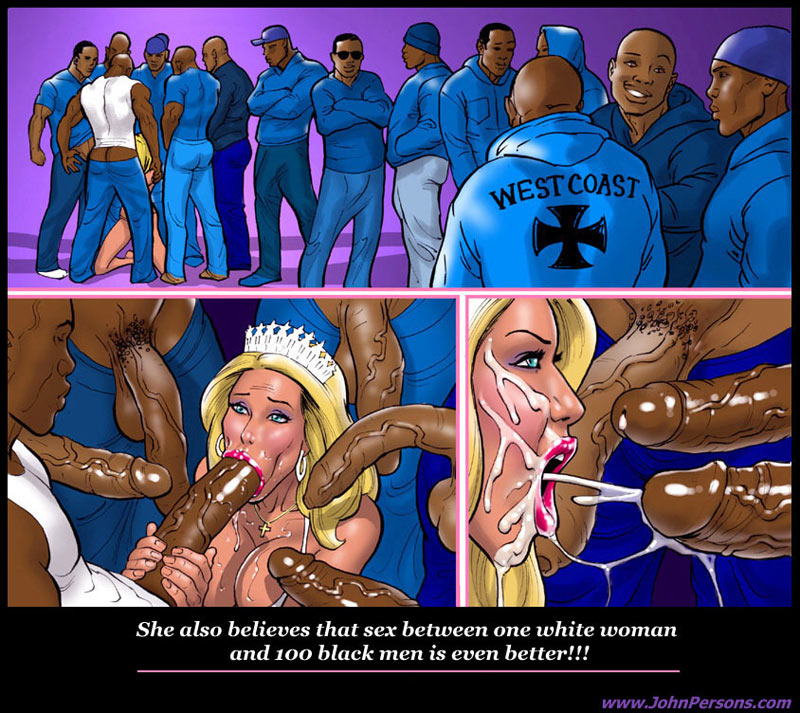 John Persons Interracial & Taboo Art